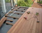 Pričvrstitev lesenih podnic z zgornje strani