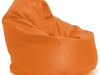 faux_leather_bean_bag_chair_orange